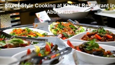 Photo of Street-Style Cooking at Khayal Restaurant in Abu Dhabi