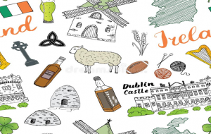 Worldwide recognized Irish elements